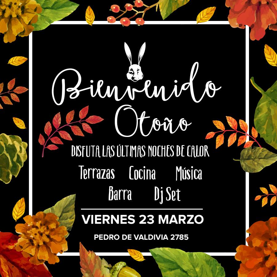 Bienvenido Otoño · 23 de marzo