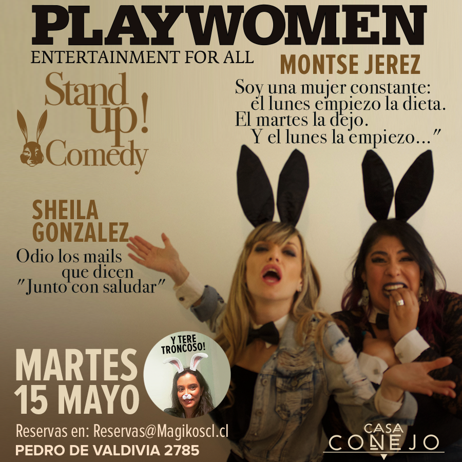 Stand Up Comedy · 15 de Mayo