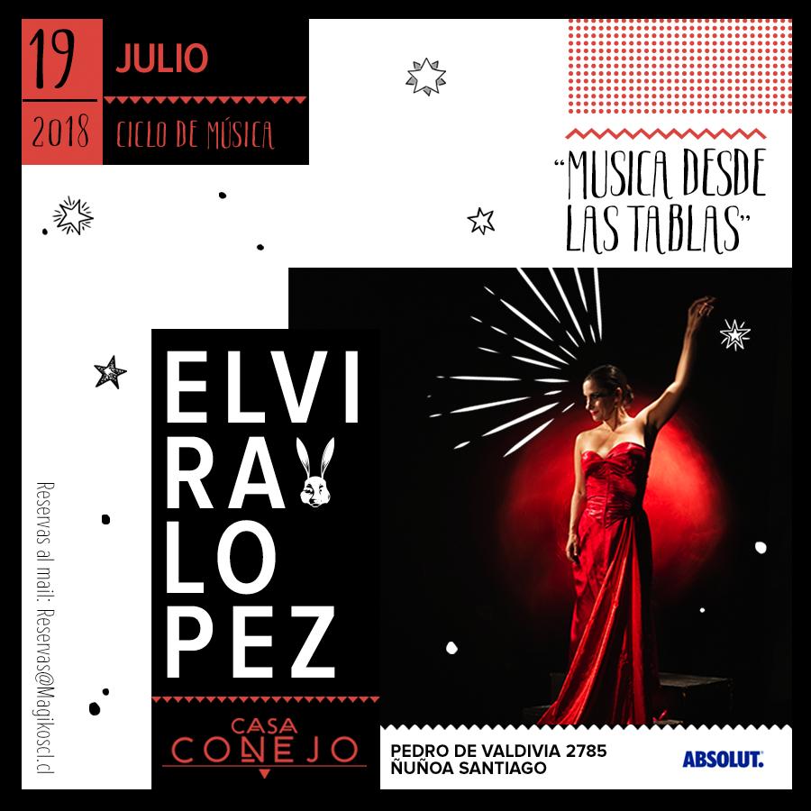 """Ciclo """"Música desde las tablas"""" · 19 de julio"""