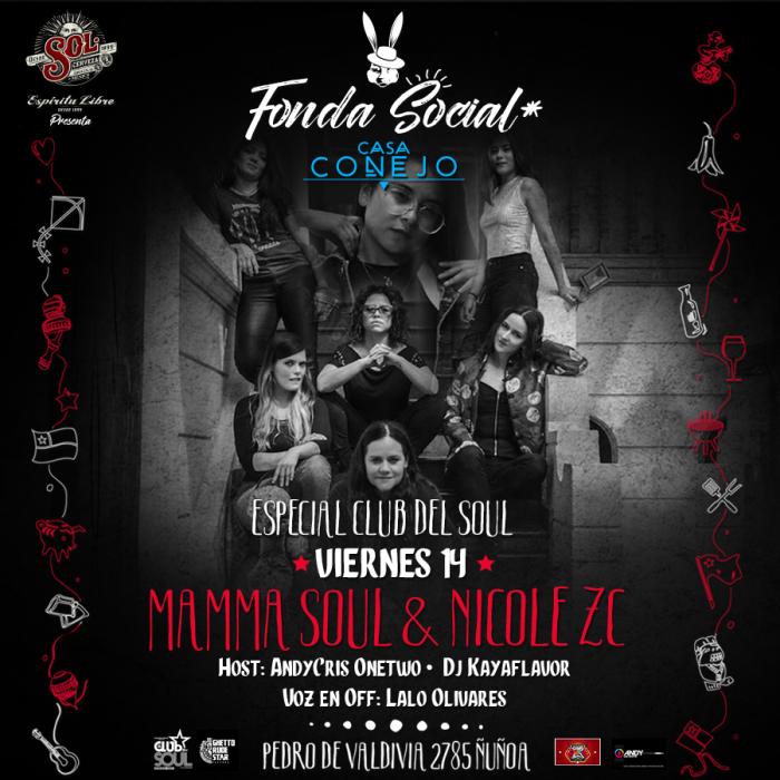 Mamma Soul y Nicole ZC & El Club del Soul · 14 de septiembre