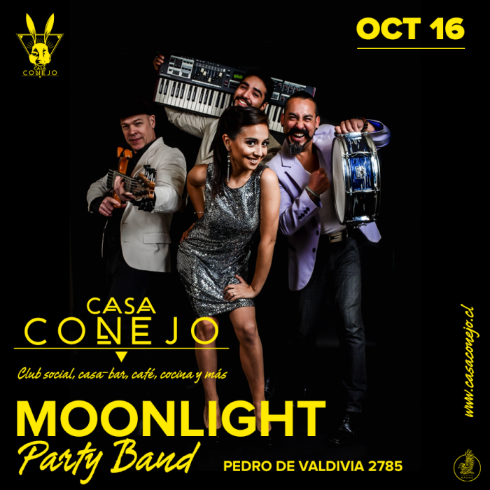 Moonlight Party Band · 16 de Octubre